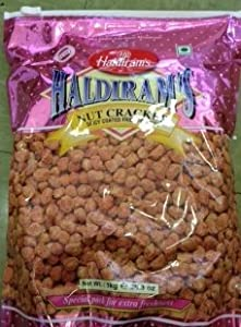 Haldirams Nut Cracker Spicy Coated Fried Peanuts - 3530oz 1kg from Haldiram
