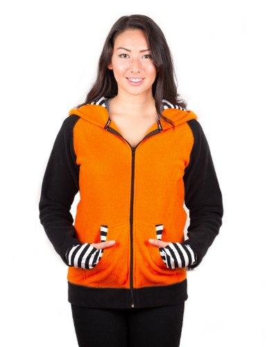 crazyheads-orange-fox-hoodie-with-striped-cuff-large