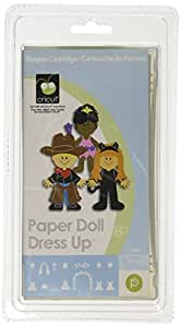 Cricut Cartridge, Paper Doll Dress Up