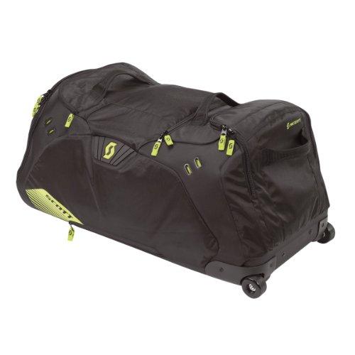 Scott Gear Duffle Reisetasche / Koffer schwarz/lime