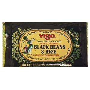 Vigo Authentic Cuban Recipe Low Fat Black Beans & Rice