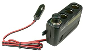 Wagan 4-Way 12V Automotive Socket Extender by Wagan