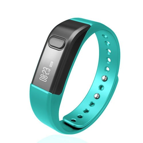 Fitness Tracker Smart Bracelet, Vcall I5 S Waterproof Bluetooth Smart Band Wristband Activity Tracker with Sports Pedometer Health Tracker and Sleep Monitor(Blue)
