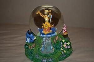 """Winnie the Pooh Musical Snow Globe """"The Rain Rain Rain Came Down Down Down"""""""