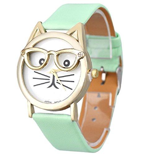 mallomr-women-lovely-watches-cute-glasses-cat-wrist-watch-blue