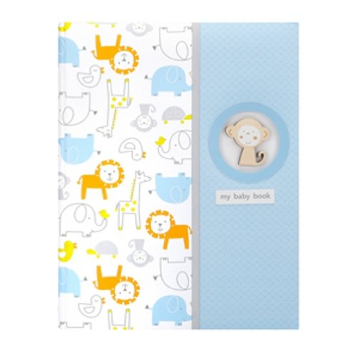 Carter's Bound Keepsake Memory Book of Baby's First 5 Years, Monkey Pals (Discontinued by Manufacturer)