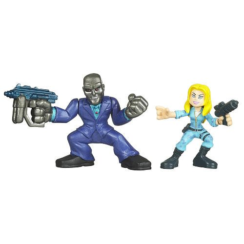 Picture of Hasbro G.I. Joe The Rise of Cobra Combat Heroes 2-Pack Cover Girl & Destro Figure (B002VBIA5S) (G.I. Joe Action Figures)