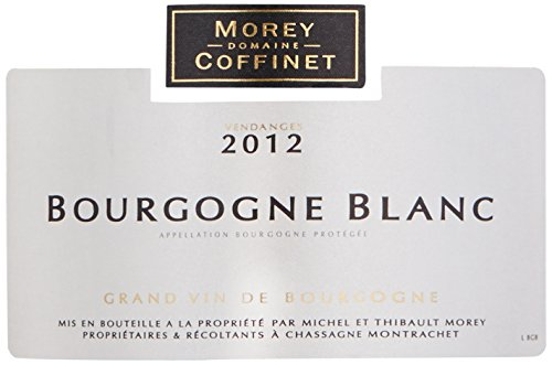 2012 Morey Coffinet Bourgogne Blanc - White Burgundy 750Ml