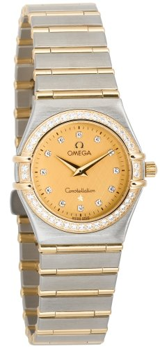 Omega Women's 1277.15.00 Constellation Quartz Small Diamond Accented Watch