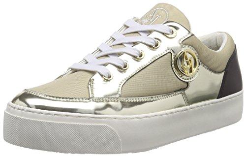 Armani JeansC55A838 - Sneaker Donna, Beige (Beige (BEIGE 51)), 39