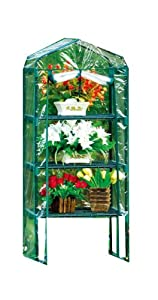 Blackspur 4 Tier Mini Greenhouse