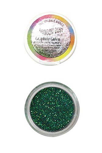 rainbow-dust-non-toxic-kuchen-glitzern-glanz-dekoration-graphite-green-grun
