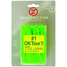 NEW Zero Friction Green Tees 2 Plastic 1 Pack Of 50 Total 3 Prong 2.75
