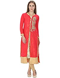 category home appliances limerence blue georgette straight kurti