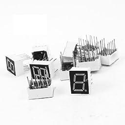 TOOGOO(R) 10 Pcs Common Cathode 10 Pin 1 Bit 7 Segment 0.39\