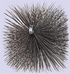 Chimney 23121 Square Flue Brush - 7 Inches