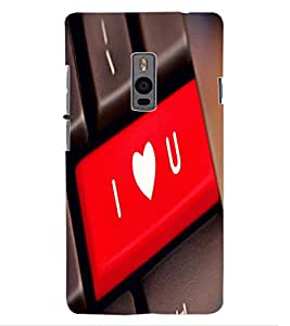 ColourCraft Creative KeyBoard Design Back Case Cover for ONEPLUS TWO