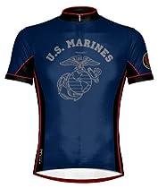 US Marines - Dress Blues Cycling Jersey - Large