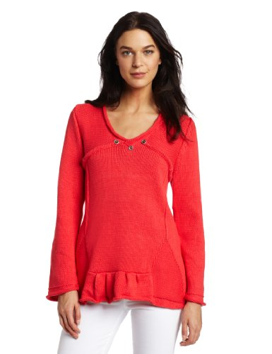 Pure Handknit Women's Asha Swing Pullover Sweater