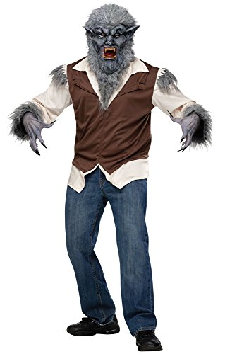 Adult Deluxe Wolfman Costume