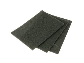 Norton Lot de 3 Feuilles 230 x 280 mm papier anti-encrassant Grain 240