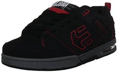 Etnies Men's Metal Mulisha Kontra Skate Shoe,Black/Grey/Red,7 D US