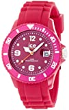 ICE-Watch - Montre Mixte - Quartz Analogique - Ice-Shadow - Cherries - Big - Cadran Rose - Bracelet Silicone Rose - SW.CHE.B.S.12
