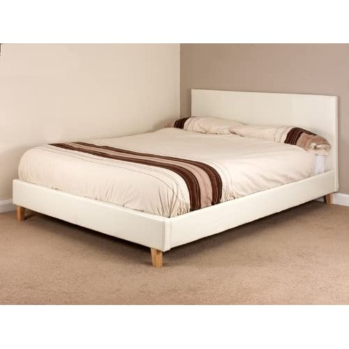 Trending 10 Faux Leather Bed Frames In White