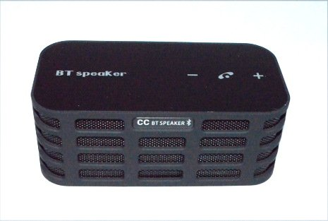 Vaprime - Black Ulta Portable Wireless Bluetooth Speaker