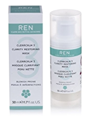 REN ClearCalm 3 Clarity Restoring Mask 30ml
