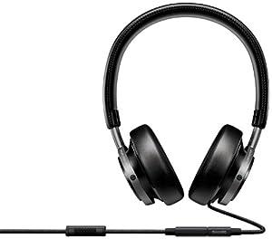 Philips M1/00 Premium Black Headphones with Universal Hands-Free Function