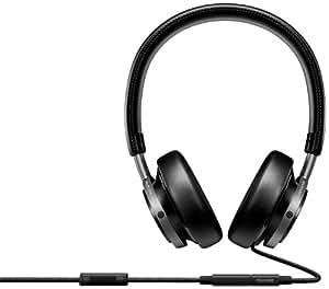 Philips Fidelio Casque Audio M1/00 Noir avec fonction prise d'appel et micro pour téléphone mobile
