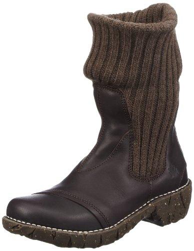 El Naturalista Women's Iggdrasil N097 Boots brown EU 39
