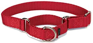 "Premier Collar 1"" Medium, Red"