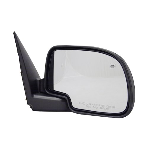Mirror Power Heated Black Smooth Cover Passenger Right RH for 07-12 Santa Fe