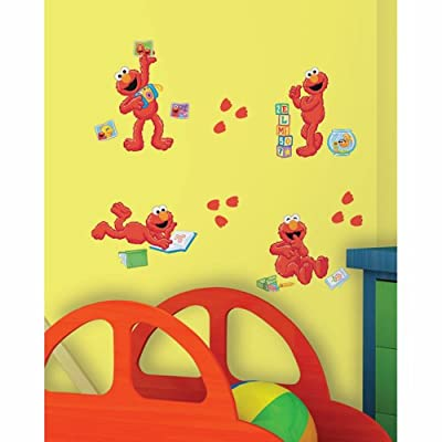 Sesame Street - Elmo-Centric Peel & Stick Wall Decals