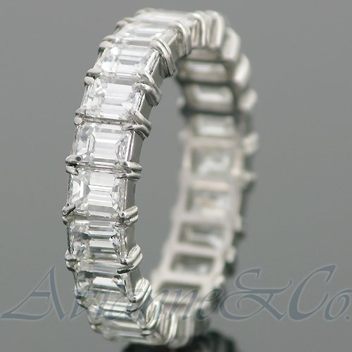14K White Gold Womens Diamond Eternity Band 3.50