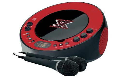 The X Factor LS-11 CDG Karaoke Machine - Red/Black