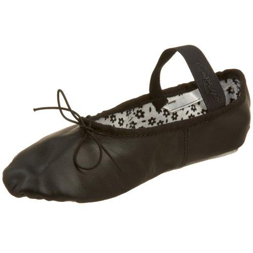 Capezio Women'S Daisy Ballet Shoe,Black,9 M Us front-1044332