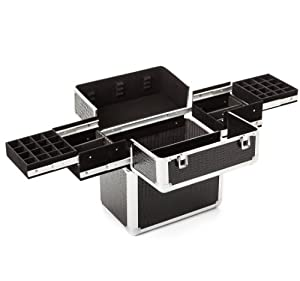 urbanity mallette de rangement en aluminium pour vernis. Black Bedroom Furniture Sets. Home Design Ideas