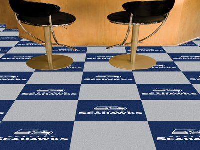 NFL - Seattle Seahawks Carpet Tiles at Amazon.com