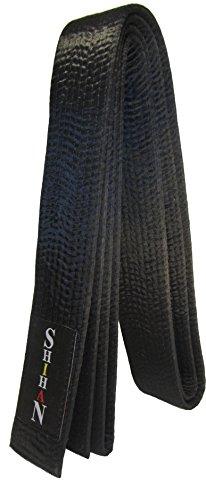 KARATE, Black Belt -MASTER-Silk/Satin -300cm (Plain)