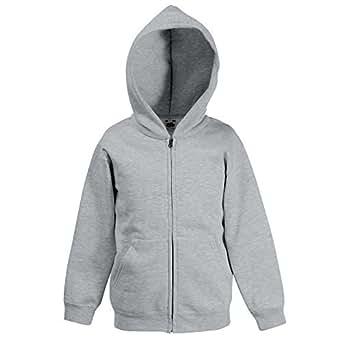 Fruit Of The Loom Kids Hooded Sweat Jacket