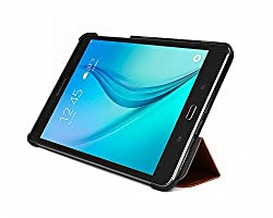 Bear Motion for Tab A 8.0 Case - Premium Slim Folio Case with Stand Galaxy Tab A 8.0 Tablet - Brown