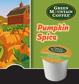 Green Mountain Coffee Pumpkin Spice for Keurig