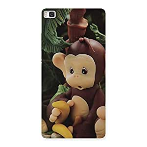 Toy Monkey Back Case Cover for Huawei P8