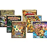Mumbo Jumbo 6 Pack (Luxor 2 / Jewel Quest / Mahjong Quest / 7 Wonders of the Ancient World / Mystery Quest / Slingo Quest)by Mumbo Jumbo