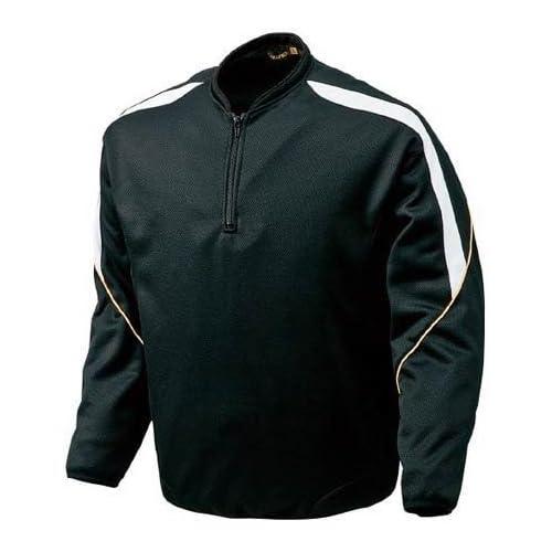 ミズノ(MIZUNO) BKジャケットプロモデル グローバルエリート ブラック×ホワイト 52LA10909 L