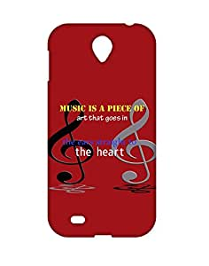 Mobifry Back case cover for Lenovo A850 Mobile ( Printed design)