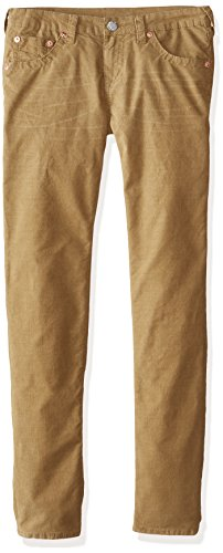 True Religion Big Boys' Geno Corduroy Pant, Beach Nut, 14